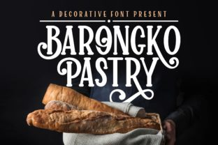 Print on Demand: Barongko Pastry Serif Font By awansenja.type