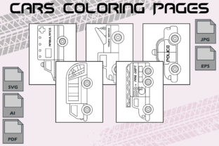 Cars Coloring Pages VOL 1   KDP Graphic Coloring Pages & Books Kids By Kdp Speed