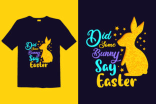 Print on Demand: Easter Day T-shirt Design 020 Graphic Print Templates By graphicdabir