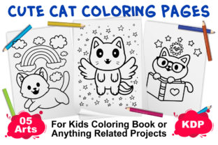 Animal Coloring Pages for Kids   Vol 01 Graphic Coloring Pages & Books Kids By XpertDesigner