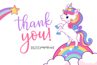 Print on Demand: Baby Magical Unicorns Graphic Illustrations By DigitalPapers 3