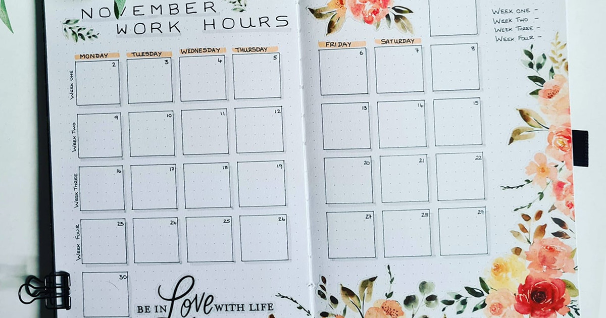 Bullet Journaling 101: Choosing a Monthly Theme main article image