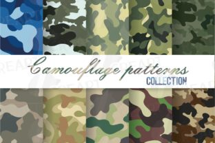 Print on Demand: Camouflage Army Patterns Uniform Texture Graphic Patterns By CreartGraphics