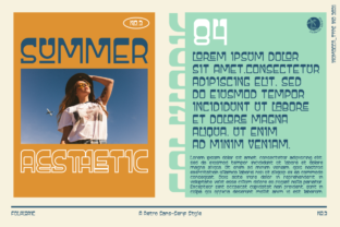 Print on Demand: Folkloric Display Font By inumocca_type 5