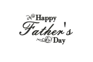 Happy Father's Day Father's Day Embroidery Design By BabyNucci Embroidery Designs