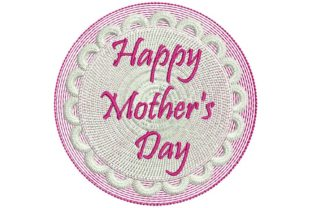 Happy Mothers Day: Cake Mother's Day Embroidery Design By BabyNucci Embroidery Designs