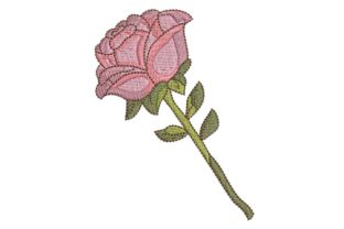 Happy Mothers Day Rose Mother's Day Embroidery Design By BabyNucci Embroidery Designs
