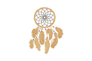 Print on Demand: Mystic Dreamcatcher Religion & Faith Embroidery Design By EmbArt