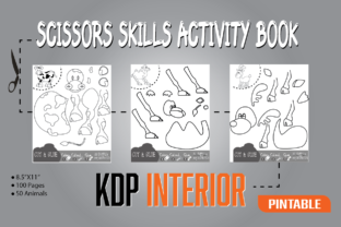 Scissor Skill Kdp Interior Graphic Teaching Materials By magicCreative