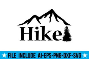Hike Graphic Crafts By svgcuts360