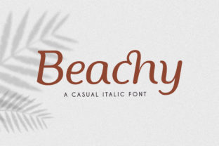 Print on Demand: Beachy Serif Font By Typia Nesia