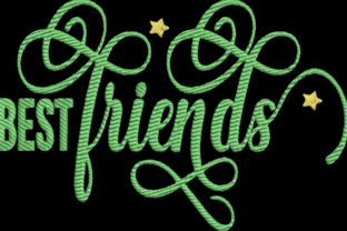 Best Friends Inspirational Embroidery Design By Wingsical Whims Designs