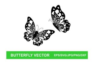 Butterfly Vector Graphic Illustrations By therintproject