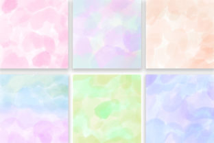 Print on Demand: Candy Pastel Background Digital Papers Graphic Backgrounds By PinkPearly 3