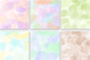 Print on Demand: Candy Pastel Background Digital Papers Graphic Backgrounds By PinkPearly 4