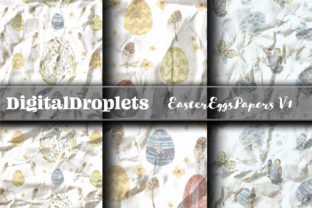 Easter Eggs Papers Vol. 1 | FREEBIE Graphic Backgrounds By FlyingMonkies