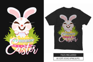 Happy Easter Day 2021 T-shirt Design Graphic Print Templates By hossaingrde