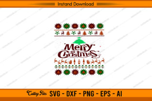Happy Merry Christmas Design Graphic Print Templates By sketchbundle
