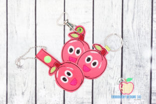 Java Plum ITH Keyfob Design Food & Dining Embroidery Design By embroiderydesigns101