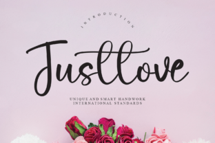 Print on Demand: Justlove Script & Handwritten Font By andikastudio