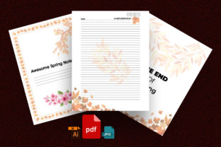 Print on Demand: KDP Interiors: Awesome Spring Planner. Graphic KDP Interiors By ivect