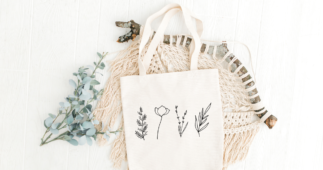 Make This Fun Spring Tote with Your Cricut
