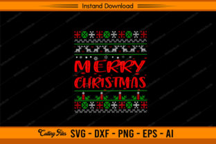 Merry Christmas Ugly Design Graphic Print Templates By sketchbundle
