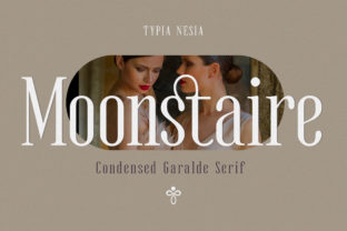 Print on Demand: Moonstaire Serif Font By Typia Nesia