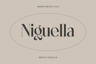 Print on Demand: Niguella Serif Font By Ahdrim Studio