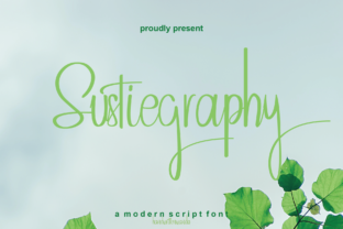 Print on Demand: Sustiegraphy Script & Handwritten Font By handwrittenwanda