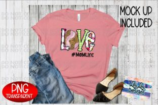 Print on Demand: Easter Love Mom Life Sublimation PNG Graphic Illustrations By Lori Lou Designs