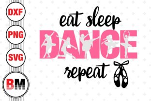 Eat Sleep Dance Graphic Crafts By BMDesign