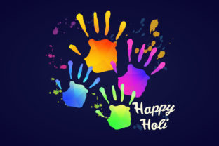 Holi Festival of Colors, Happy Holy Graphic Illustrations By naemislamcmt