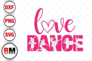 Love Dance Graphic Crafts By BMDesign