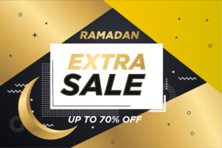 Ramadan Sale Banner Graphic Graphic Templates By Asrostudio_zul77
