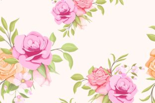 Print on Demand: Seamless Pattern Floral Concept Template Graphic Patterns By lukasdediz