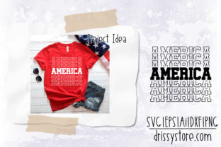 America Graphic Crafts By DrissyStore