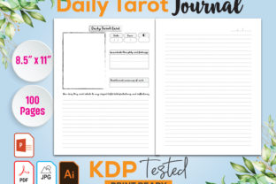 Daily Tarot Journal Kdp Interior Graphic KDP Interiors By GraphicTech360