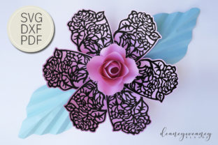 Flowerception Petal 5 Graphic 3D Flowers By Deaney Weaney Blooms