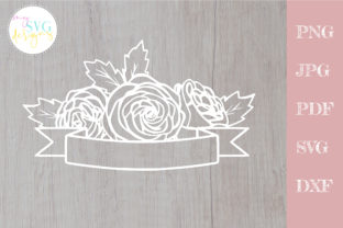Rose Svg, Mailbox Decal Svg Graphic Crafts By MySVGDesigns