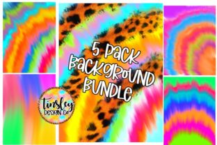 Tie Dye Digital Paper Background Bundle Graphic Backgrounds By tiffanator606