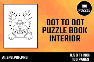 Print on Demand: 100 Dot to Dot KDP Interior for Kids Graphic KDP Interiors By Moonfrog Design House