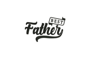 Best Father Father's Day Embroidery Design By DigitEMB