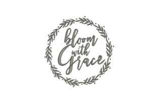 Bloom with Grace Wedding Designs Embroidery Design By DigitEMB