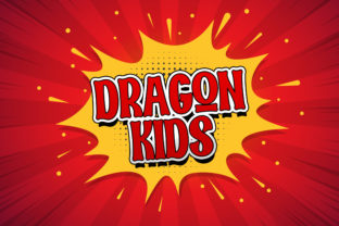 Print on Demand: Dragon Kids Display Font By StringLabs