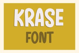Print on Demand: Krase Display Font By Design 2 Last