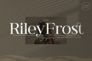 Print on Demand: Riley Frost Serif Font By StringLabs