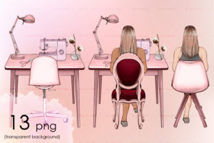 Tailor Sitting on Chairs Different Types Graphic Objects By arctiumstudio