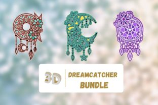 3D Dreamcatcher SVG Bundle Graphic 3D SVG By SvgOcean
