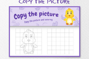 A Cute Chick 3 - Copy the Picture Graphic 10th grade By wijayariko